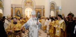 Paryż: wyświęcenie cerkwi Świętej Trójcy