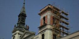 Hełm wieży katedry prawosławnej w Budapeszcie zostanie odbudowany