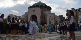 Wyświęcenie katedry w Gjirokastrze (Albania)