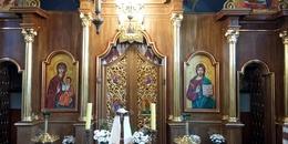 Poświęcenie cerkwi w Młodowicach