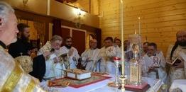 Uroczystości w Monasterze św. Dymitra w Sakach