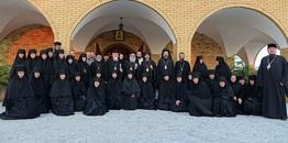 Patriarcha Antiochii Jan X w monasterze w Zwierkach