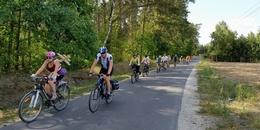 Pielgrzymi na rowerach