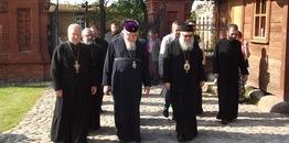 Delegacja Prawosławnego Kościoła Antiochii w Białowieży