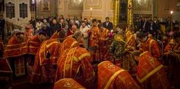 Święto Podwyższenia Krzyża Pańskiego w warszawskiej katedrze