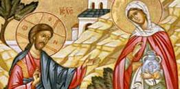 Synaksarion V Niedzieli po Święcie Paschy - o Samarytance