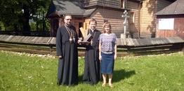 Ksiądz Własysław Kaniuk nagrodzony za opiekę nad cerkwią w Hańczowej