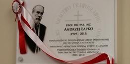 Ku pamięci prof. Andrzeja Łapko