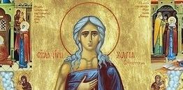 Czwartek V Tygodnia Wielkiego Postu. Żywot św. Marii Egipskiej