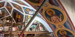 W Supraskim Monasterze powstają kolejne freski
