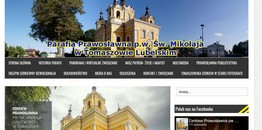 Nowa strona parafii w Tomaszowie Lubelskim