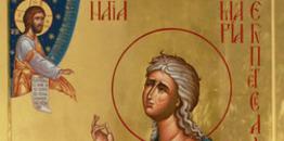 Synaksarion V Niedzieli Wielkiego Postu. Świętej Marii Egipskiej