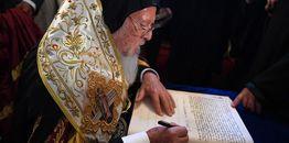 Zarządzenia Patriarchatu Ekumenicznego z dnia 11 października 2018