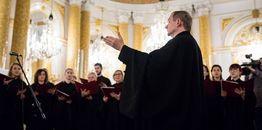 Nagranie pierwszej część koncertu muzyki cerkiewnej i pieśni patriotycznej