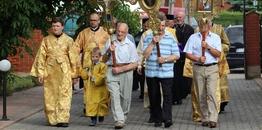 Święto parafialne w Siemiatyczach