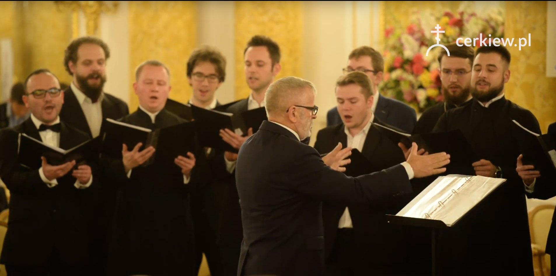 Nagranie trzeciej część koncertu muzyki cerkiewnej i pieśni patriotycznej