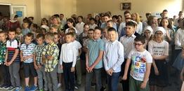 Liturgiczne zakończenie roku szkolnego w brackiej szkole i wręczenie Orderów Świętych Braci Sołuńskich