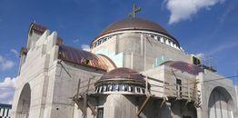Z placu budowy warszawskiej Hagia Sophia