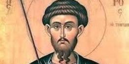 Synaksarion Soboty I Tygodnia Wielkiego Postu. Wielkiego Męczennika Teodora Tyrona