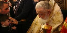 Kolejne 1000 dzieci zostało ochrzczonych przez Patriarchę Gruzji Eliasza