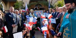 Uroczystości ku czci Ostrobramskiej Ikony Matki Bożej w Atenach