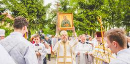 Święto parafialne w Nowoberezowie