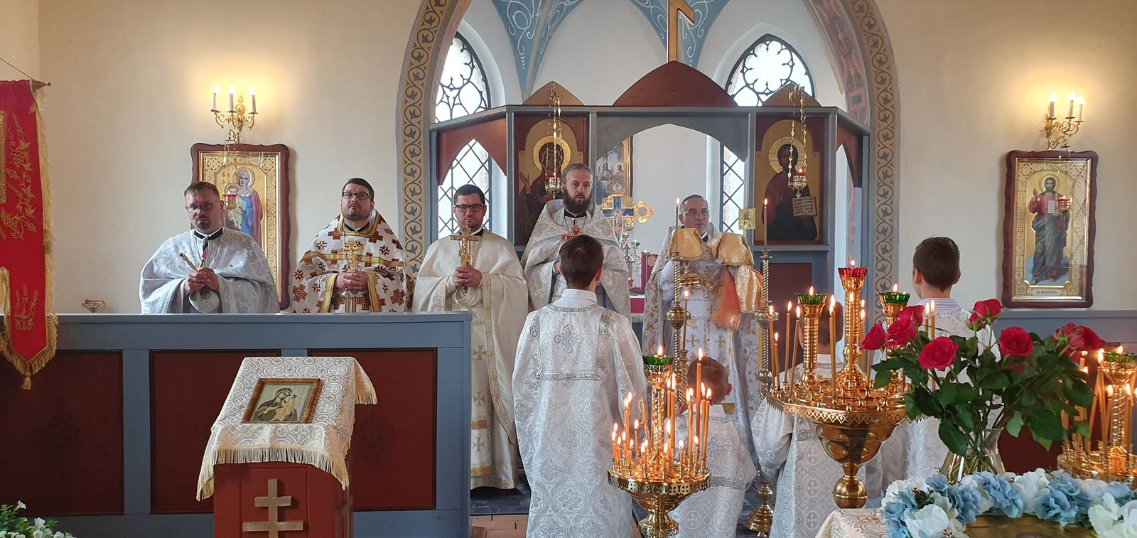 Święto ku czci Św. Mikołaja we wsi Dolice