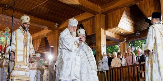 Święto Przemienienia Pańskiego na Świętej Górze Grabarce