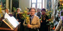 Niedziela Palmowa w parafii ZNMP w Kleszczelach