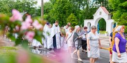 Nowoberezowo: parafialne święto Wniebowstąpienia Pańskiego