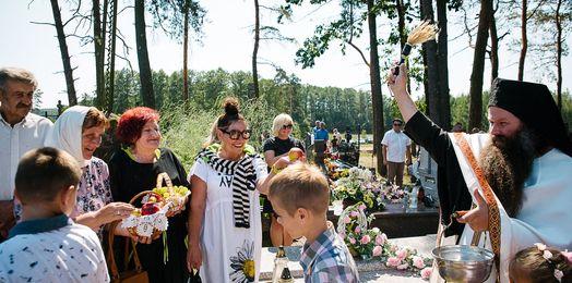 Święto Przemienienia Pańskiego w Sakach