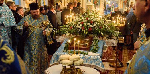Puchły: Święto Opieki Matki Bożej