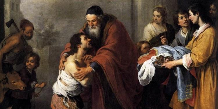 Znalezione obrazy dla zapytania marnotrawny syn