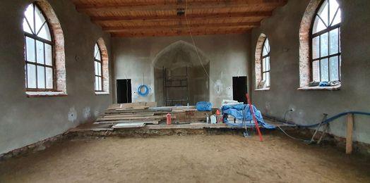 Kolejny etap prac przy cerkwi w Barlinku