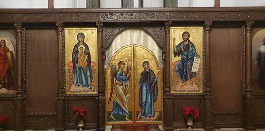 Nowe ikony w stargardzkim ikonostasie
