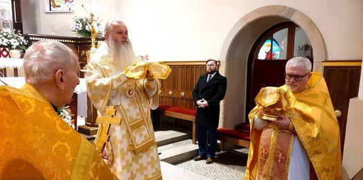 Biskup Atanazy w Bielsku Białej