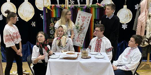 Wieczór Kolęd w Niepublicznej Szkole św. św. Cyryla i Metodego w Białymstoku