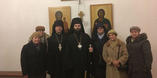 Modlitwa Bratczykow Świętych Cyryla i Metodego w Supraskim Monasterze