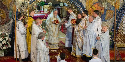 Święto parafialne w soborze św. Trójcy w Hajnówce
