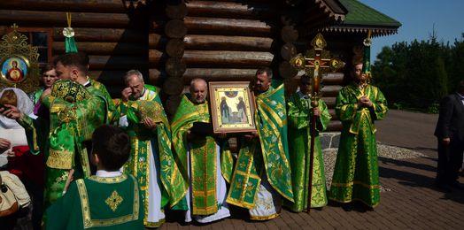 Uroczystości w skicie św. Antoniego i Teodozjusza w Odrynkach